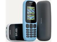 Nokia 105 sim free brand new boxed