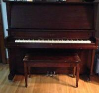 FREE Upright Piano with bench