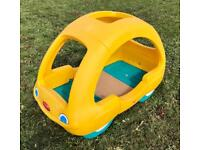 RARE Step 2 Toddler Infant Children's Kids Beetle Car Bed Yellow Like Little Tikes