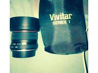 Vivitar Fish Eye Lense - Fisheye Camera Kodak Canon