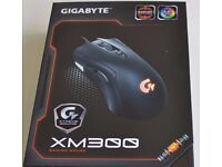 Brand New Gigabyte XM300 Gaming Laser Mouse. 6400 DPI