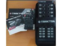 Traktor X1 MK1 & Audio 2 soundcard with DJ LE software