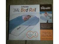 Inflarable bed rail