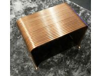 stunning handmade copper pipe coffee table