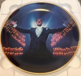 Freddie Mercury collectors plate.