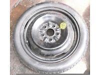 Toyota MR2 MK2 Rev2 Type Space Saver Spare Wheel Tyre 1993-1999 Free Original Jack