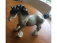 Beswick rocking horse grey