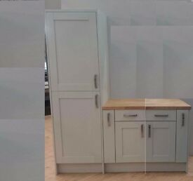 Kitchen/Utility room cabinets