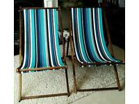 Two Deck Chairs, excellent cond.