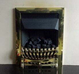 Focal Point Ashleigh Plus 4.0 KW Inset Gas Fire (Brass)