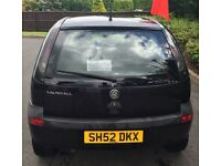 Black Corsa - Clean IN/OUT