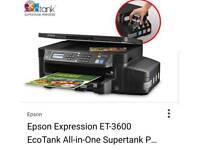 Epson EcoTank ET-3600 Multi-Function Printer with Refillable Ink Tank