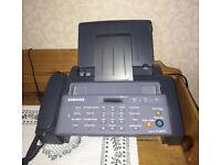 SAMSUNG SF-365TP Phone/ Fax machine.