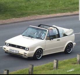 Golf Mk1 clipper convertable