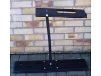 TELEVISION WALL BRACKET EXTEND AND TILT NEW STURDY BLACK METAL 77X24CM BARGAIN ONLY £10!