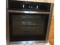 NEFF B44M42N5GB single built-in oven with slide & hide door - UNUSED