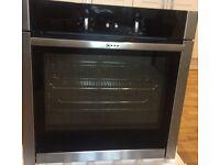 NEFF B44M42N5GB single built-in oven with slide & hide door - UNUSED