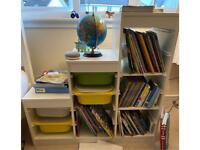 **SOLD** IKEA Storage / Bookshelf Including Plastic