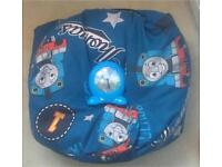 Thomas the Tank Engine Go Glow Bedtime Trainer Clock and Bean Bag