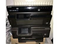 HP Wireless Printers x2 & Samsung Blu-ray Player