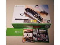 XBOX One 1 TB Console and 4 Games - Brand New