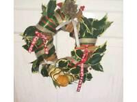 Freshly Made Christmas Wreath