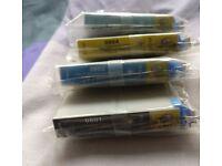 Epson new original T0801, T0802, T0804, T0805 printer ink cartridges