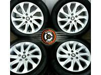"16"" Genuine Seat 10 spoke alloys 5x112, perfect cond, excellent premium tyres"