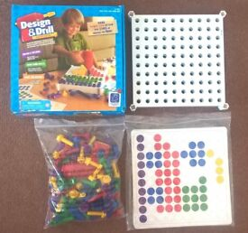 Design & Drill set - Approx 3-6 years - Excellent condition