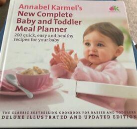Annabel Karmels Baby/Toddler Meal Planner