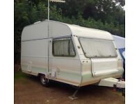 4 Berth Avondale Perle touring caravan with awning & extras