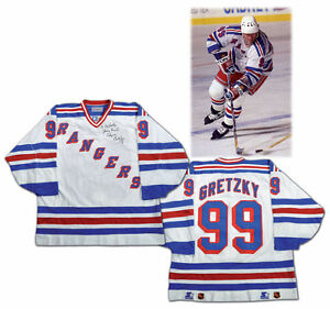 Wayne Gretzky game used worn jersey gloves helmet stick values Edmonton Edmonton Area image 7