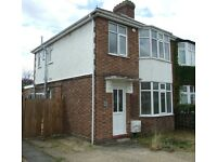 Three bedroomed house to let, Cambridge