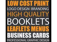 Cheap Leaflets Business & Loyalty Cards Logo Design Signage Banners Menus Tshirt Printing Leeds
