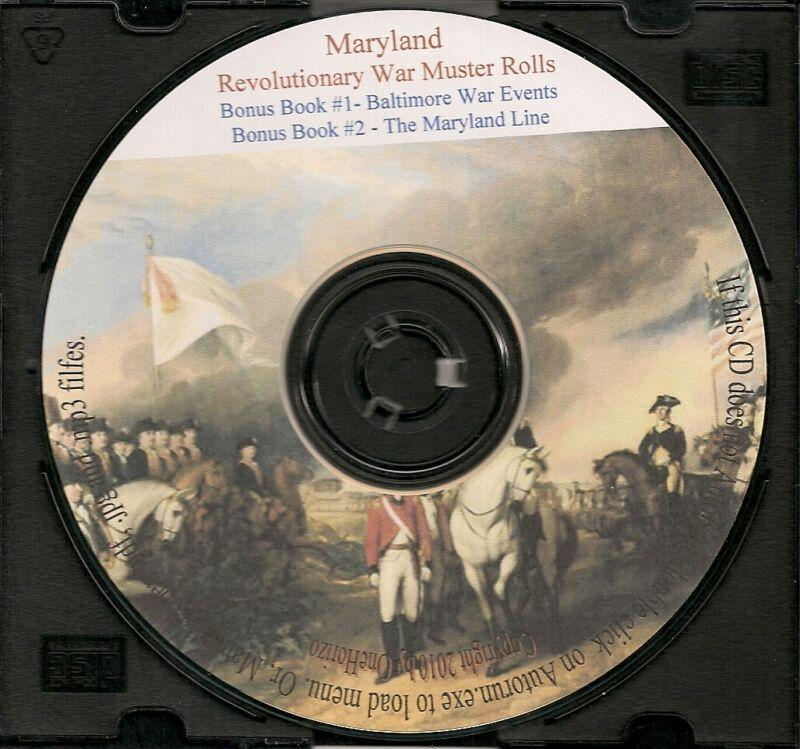 Maryland Revolutionary War Muster Rolls + Bonus