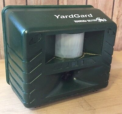 Bird-X YARD GARD GUARD Ultrasonic Animal Pest Control Repeller Deer Birds, Pests