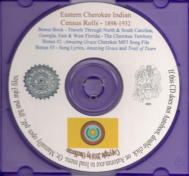 Eastern Cherokee Indian Census Rolls 1898-1932