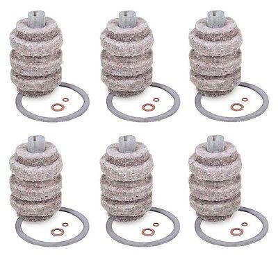 (6 Pack) GENERAL 1A-30 Fuel Oil Heat Filter Cartridge (264-1AM) NEW!