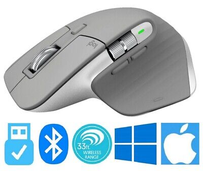 Logitech MX Master 3 Advanced Wireless Laser Rechargeable Mouse Bluetooth / USB