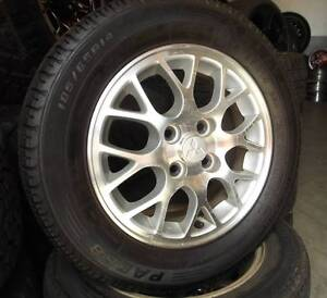 "14"" Alloy Wheels To Suit Most Front Wheel Drive Cars Toowoomba Toowoomba City Preview"