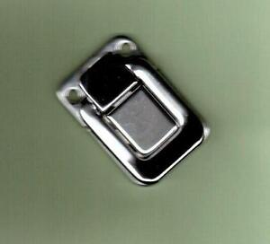 guitar case replacement latch chrome new ebay. Black Bedroom Furniture Sets. Home Design Ideas