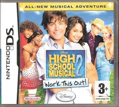 Nintendo DS High School Musical 2 Boxed with Instructions