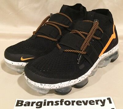 05d9f38062e New Nike Air Vapormax FK Utility - Size 6 - Black Orange Peel - AH6834
