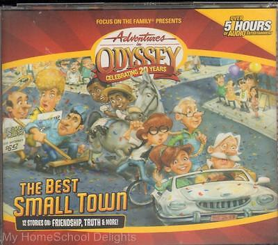 NEW Adventures in Odyssey THE BEST SMALL TOWN #50 4-CD Audio SET Christian