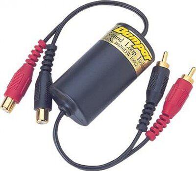 Ground Loop Isolator with Low Level Filter Car Radio Audio Hum Noise Preventer