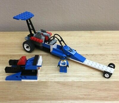 LEGO Race Speed Dragster 6714 Retired All Pcs Minifig Instr Copy No Box