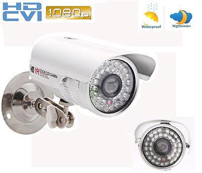 CCTV 1080P HD-CVI Camera 2MP HD Waterproof CVI DVR Security 36IR Night Vision