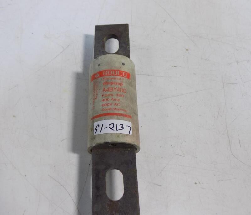 GOULD SHAWMUT AMPTRAP 400AMP FUSE A4BY400