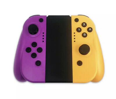 For Nintendo Switch Joy-Con (L/R) Wireless Bluetooth Controllers- Purple/Yellow