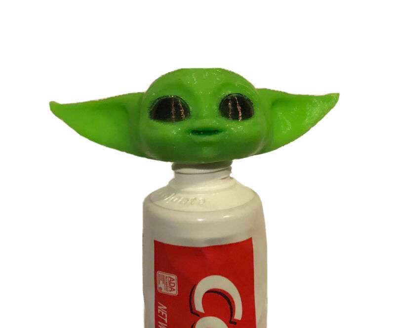 *3 PACK* Baby Yoda Toothpaste Vomit *MADE IN USA* *3D PRINTED*